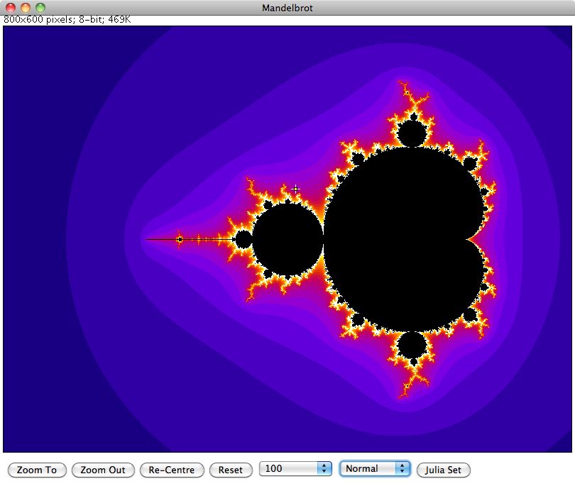 Mandelbrot Set in ImageJ