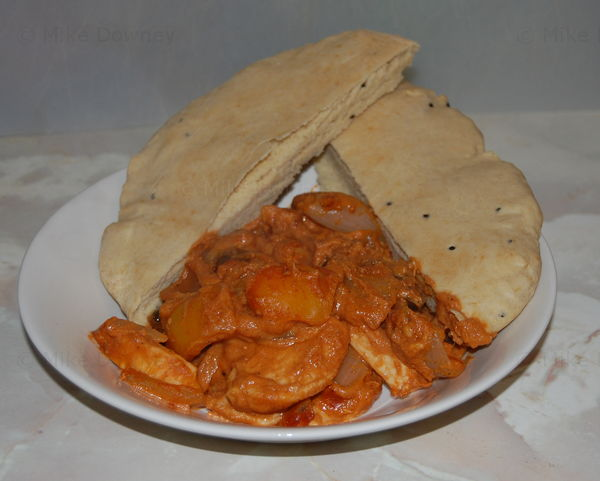 Curry and Naan