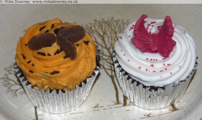Cupcakes from Maria's Bakery, Coventry Market